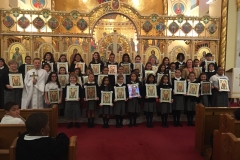 2014-2015 Sodality Blessing of the Icons