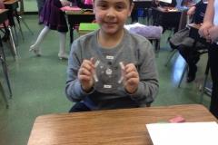Moon Rocks Visit 3rd Grade