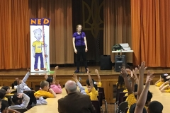 The NED Show visits ACS!